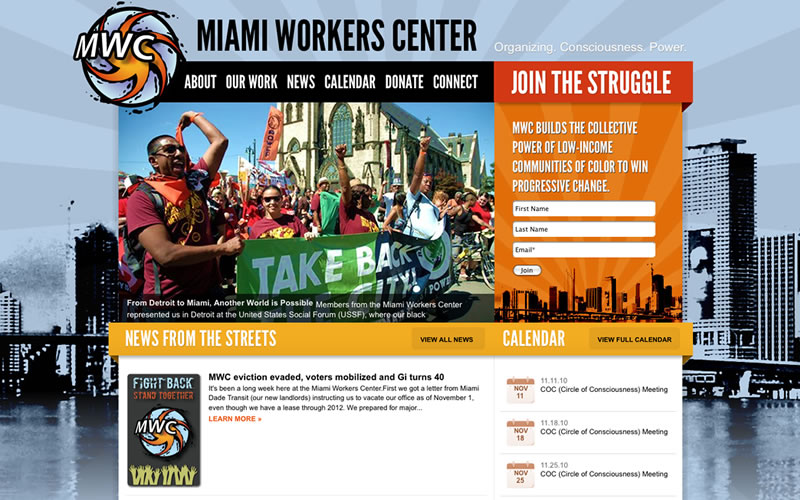 Miami Workers Center Website Launch