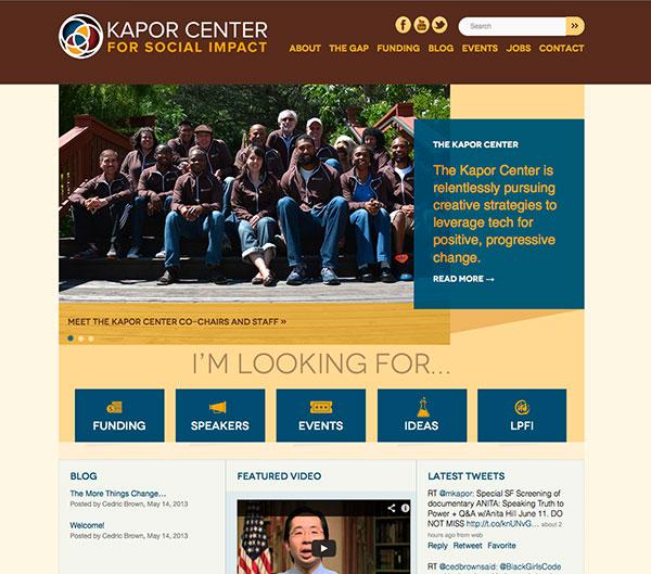 Kapor Center website