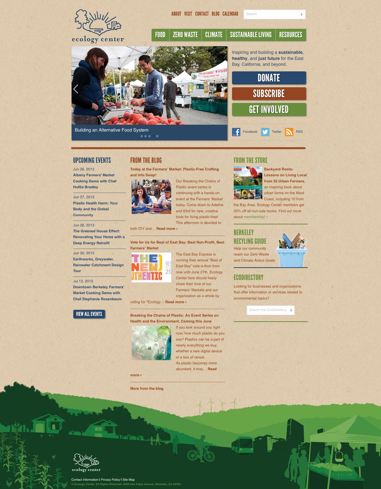 Ecology Center Home Page