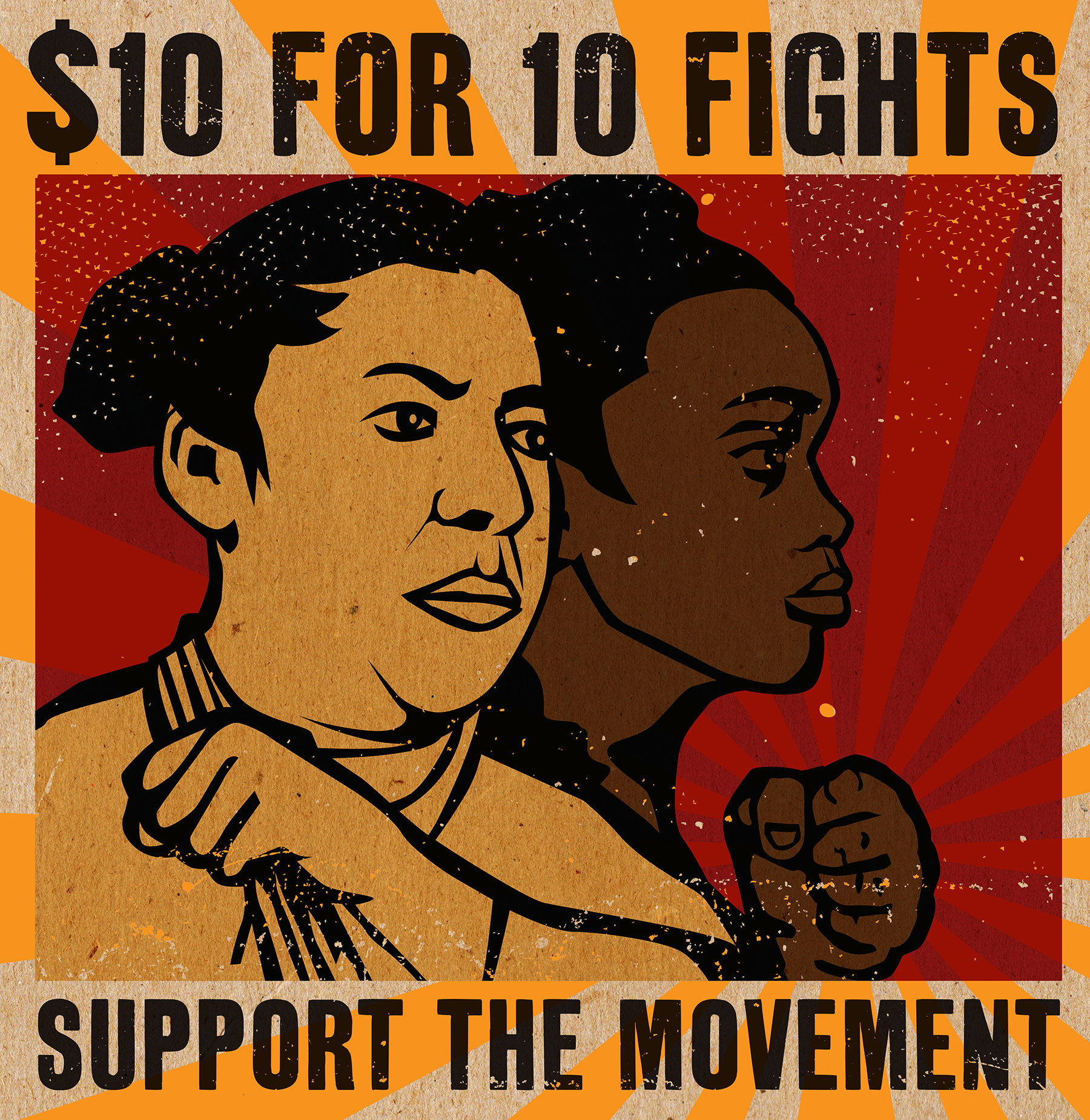 $10 for 10 Fights! CJJC's new grassroots fundraising campaign