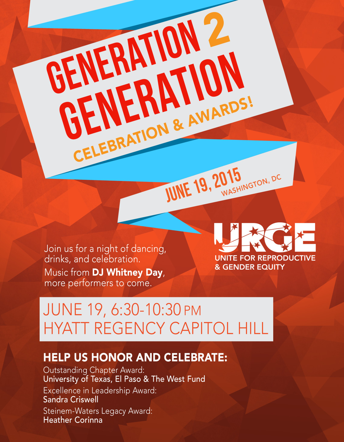 Generation 2 Generation Celebration & Awards