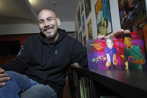 Contra Costa Times: Oakland children's author pens books with a socially conscious heart