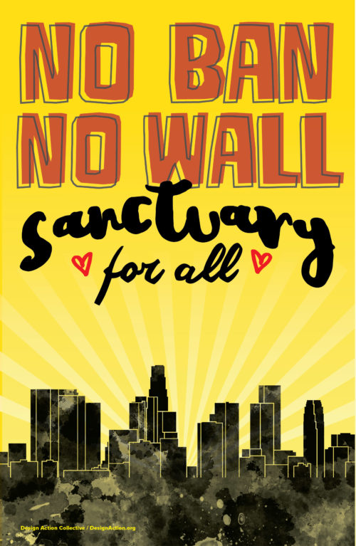 No Ban No Wall, Sanctuary for All