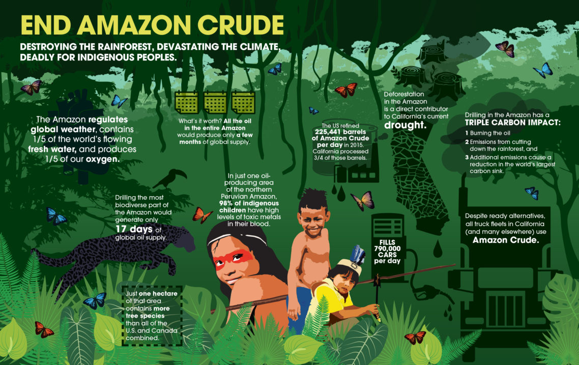 End Amazon Crude