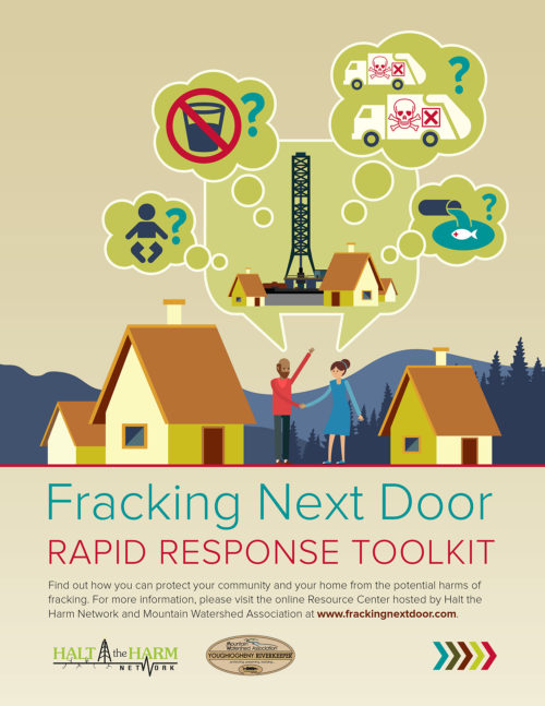 Fracking Next Door – Infographic Toolkit