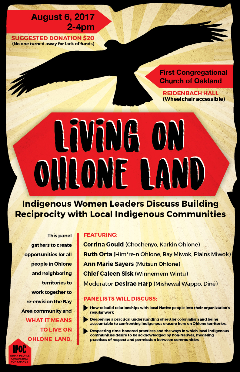 Living on Ohlone Land