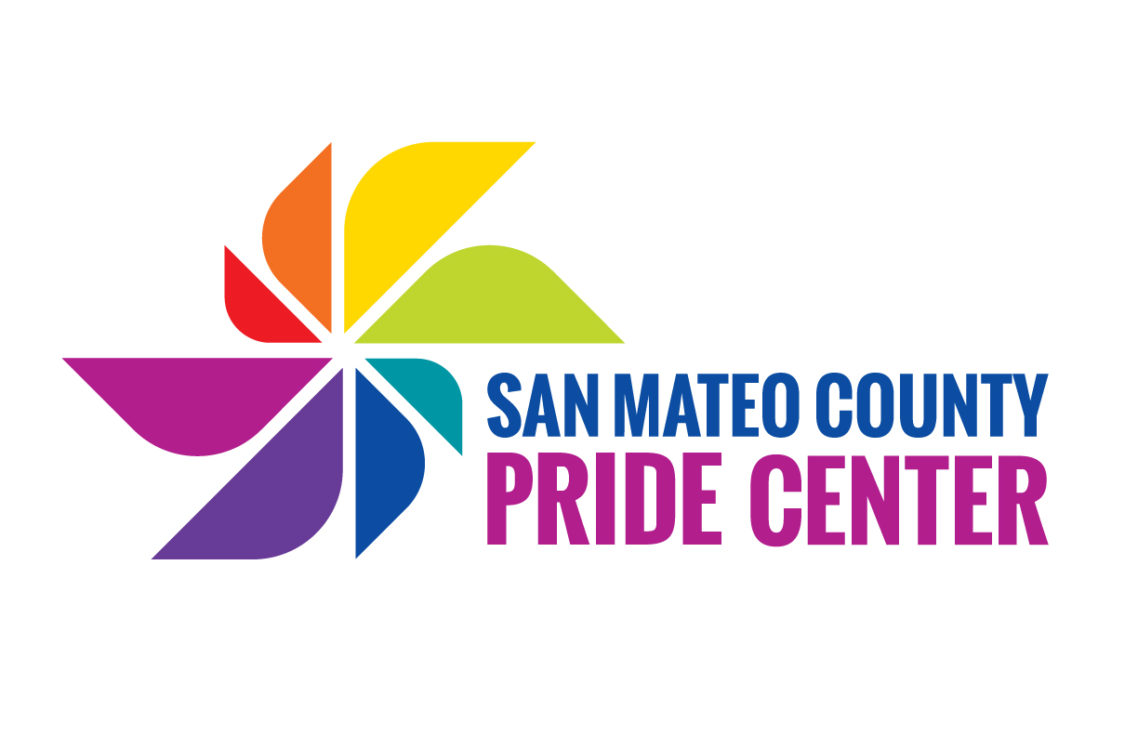 San Mateo County Pride Center Logo