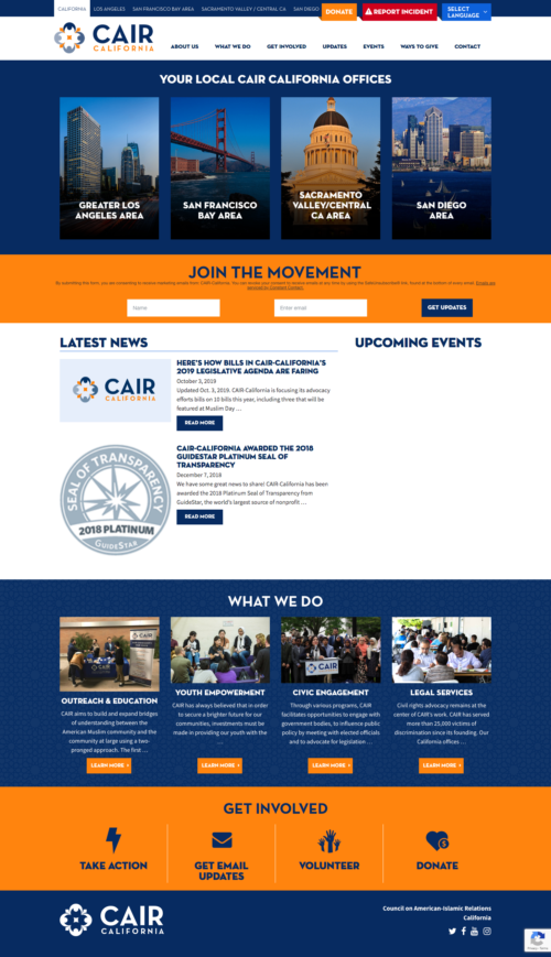 CAIR California Website